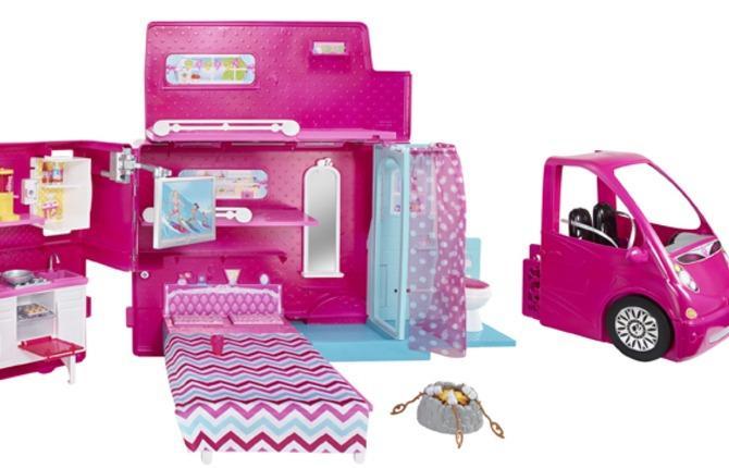 BJN62 Barbie Camper 1 1