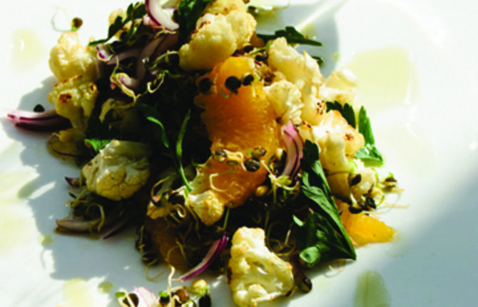 Cauliflower and Sprouted Lentil Salad   Jonathan Korecki   Web 1