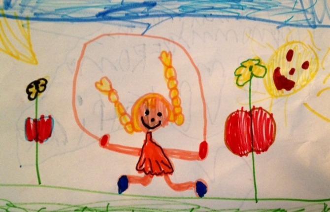 Child doodles 1