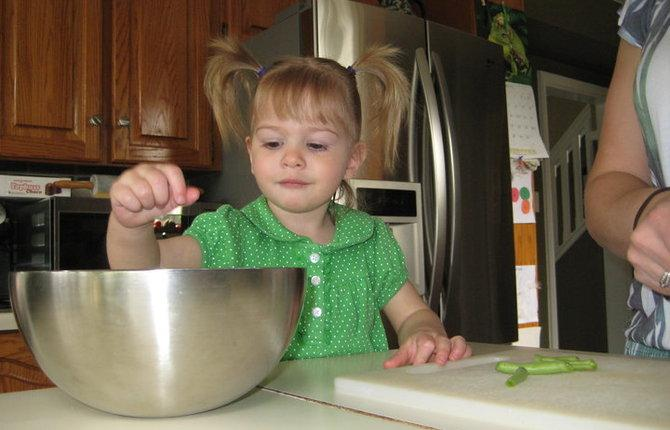 Cooking with kids 1