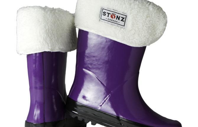 Rainboot Purple Pair 1