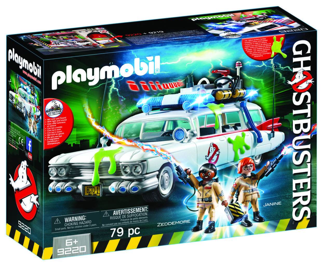 Playmobil Ghostbusters Ect copy 1